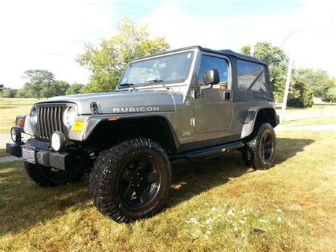lj jeep for sale find used 2006 jeep wrangler rubicon unlimited lj in