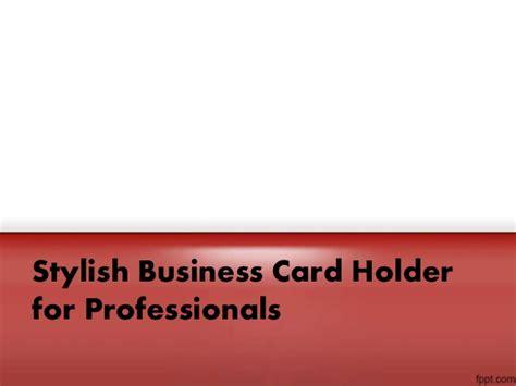 Leave The Best Impression With Stylish Business Card Holder Uline Business Card Box Blank Template Google Docs Black Orange Design Vistaprint Png Costco Money Back Publisher Border Free