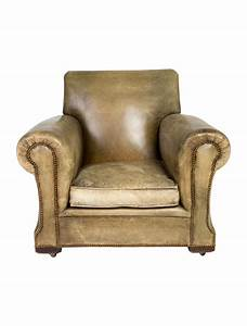 Distressed Leather Club Chairs - Furniture - CHAIR20512 ...