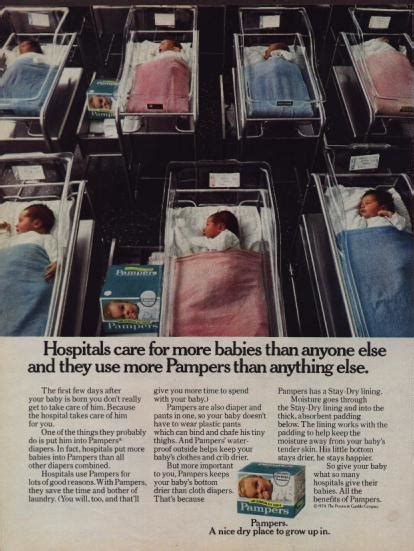 kbcd blogspot vintage pamper advertising  classic