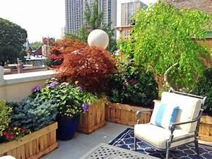 Pflanzen Für Dachterrasse : 54 bilder mit bepflanzung f r dachterrasse ~ Michelbontemps.com Haus und Dekorationen