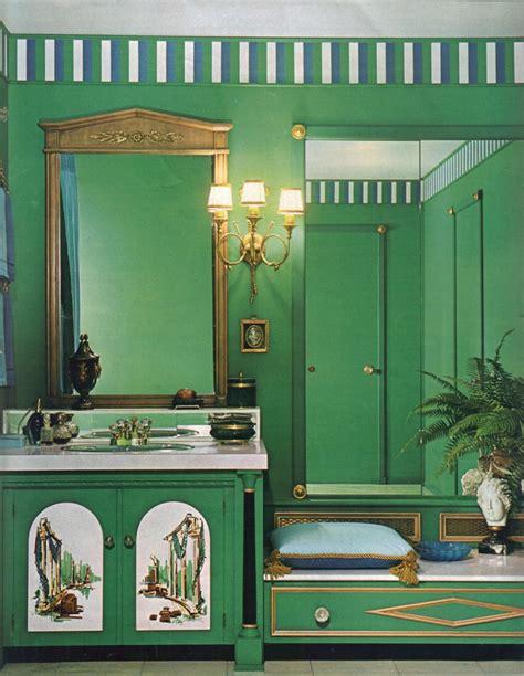 bathroom wall color ideas 16 mod interior designs from 1968 retro renovation