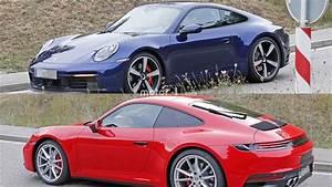 2019 Porsche 911 : 2019 porsche 911 red and blue duo spotted virtually undisguised ~ Medecine-chirurgie-esthetiques.com Avis de Voitures