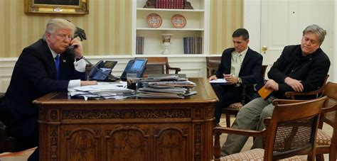Trump Orders Isis Plan, Talks With Putin And Gives Bannon