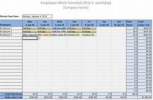 multiple employee schedule template pictures to pin on With multiple employee schedule template