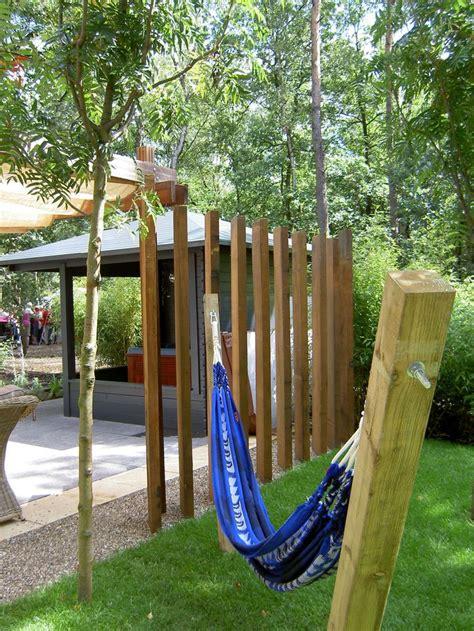 Hangmat Bevestigen by 25 Beste Idee 235 N Tuin Hangmat Op Buiten