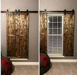 pinterest o the worlds catalog of ideas With barn door window blinds