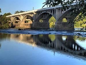 Gervais Street Bridge-1 Photograph by Charles Hite
