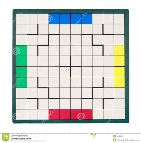 empty square game board royalty  stock photography