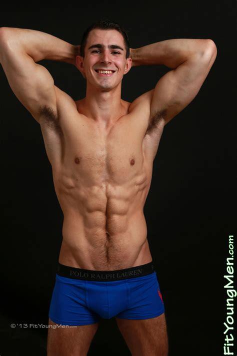 Fit Young Men Model Jamie Donaldson Personal Trainer