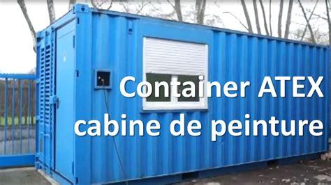 tricolor industries container cabine de peinture atex