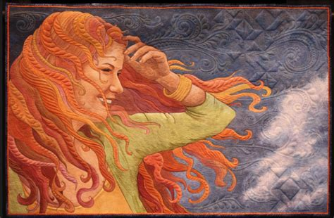 Feather Artwork by Article Move Over Monet Quilt Art Is Fine Art Opednews