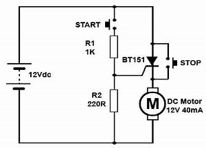 scrs in dc circuits With triacopto cct