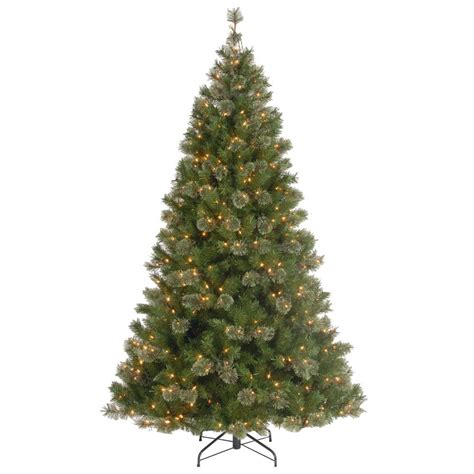 national tree company 7 1 2 ft atlanta spruce hinged