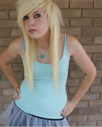 Blonde Scene Emo Hairstyles Hair Short Teen