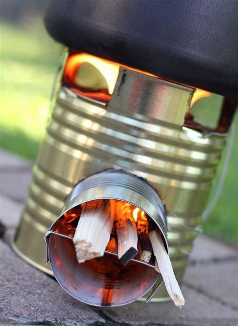 diy tiny rocket stove  idea king