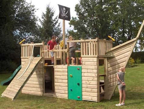 Backyard Pirate Ship Plans by Pirate Ship Play House Design Adding To Backyard