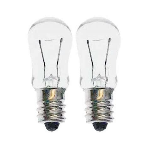 6 watt incandescent bulb with 6x6 base 12 volt 2 per pack