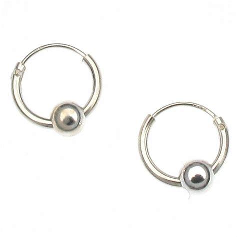 Sterling Silver 10mm Hoop & Ball Earrings Hoops  Pair. 1gm Anklet. Wire Wrap Anklet. Soleless Anklet. Dancing Indian Anklet. Holiday Anklet. Bow Anklet. Boot Anklet. Droplet Anklet