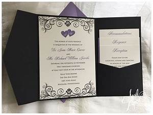 April lynn designs custom stationery design studio for Lavender avenue wedding invitations