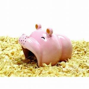 Cute Hot Sale Hippo Style Ceramic Hamster House | Home ...