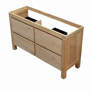 meuble sous vasque harmon 140 cm castorama With meuble sous vasque salle de bain 140 cm