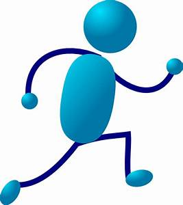 Running Stick Man Clip Art at Clker.com - vector clip art ...