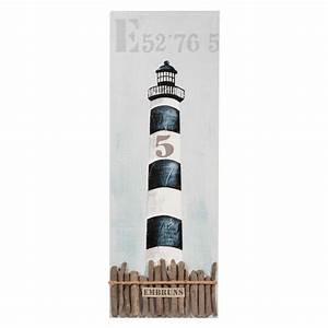 toile phare des embruns maisons du monde seaside With toile maison du monde