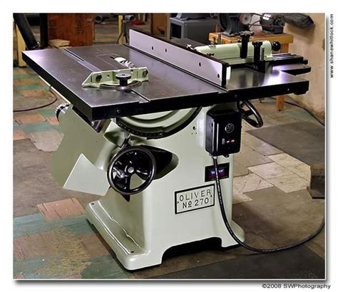 oliver   table  woodworking tools