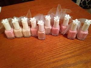 essie wedding shower favors wedding pinterest With wedding shower party favor ideas