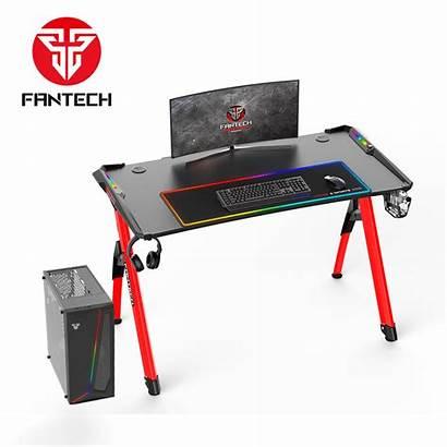 Desk Gaming Fantech Rgb Gamer Escritorio Setup