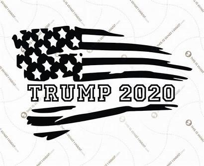 Trump Flag Donald Printable Usa Graphic Hi