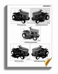 John Deere Stx30 Stx38 Stx46 Service Manual