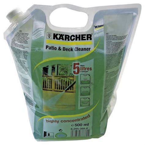 karcher patio deck cleaner 500ml concentrate sibbons