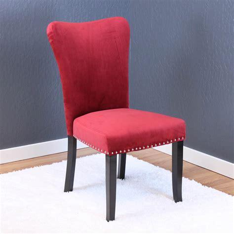 aalten deep red velvet dining chairs set   walmartcom