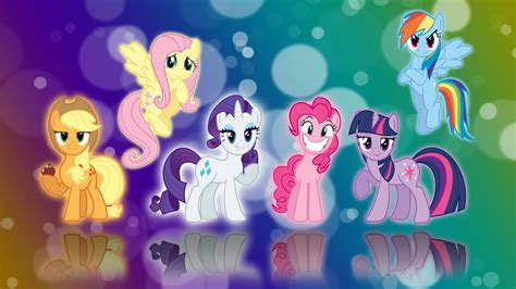 Mlp Characters Mlp Fim Characters Images My Little Pony Hd Wallpaper And