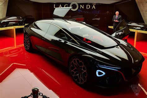 aston martins lagonda concept car  breathtaking  verge