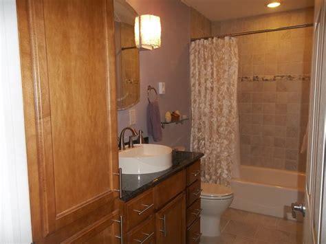 Kraftmaid Wickstrom Maple Square  Newton Bathroom