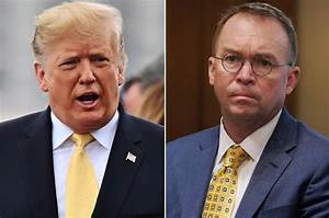 Mulvaney says Trump is 'deadly serious' about Mexican tariffs