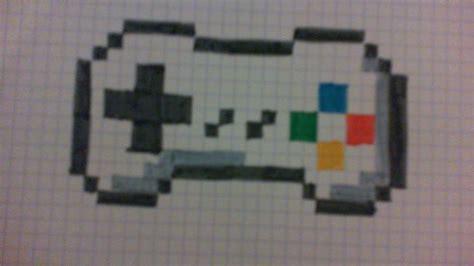 tuto comment dessiner une manette de jeux en pixel art