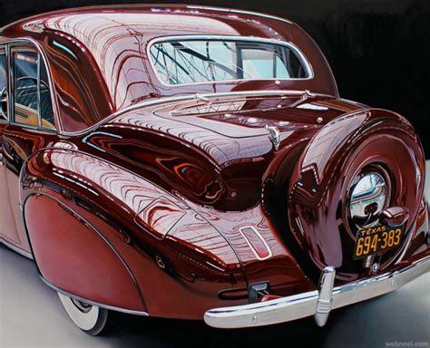 25 Extraordinary Hyper Realistic Car Paintings By Cheryl