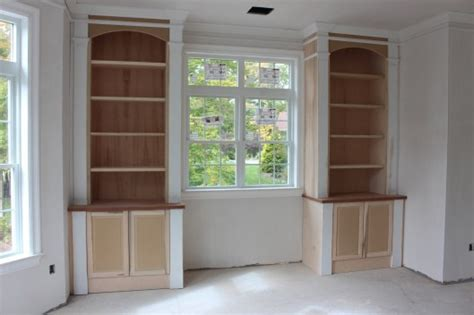 Beadboard Bookcase : Custom Home Finish