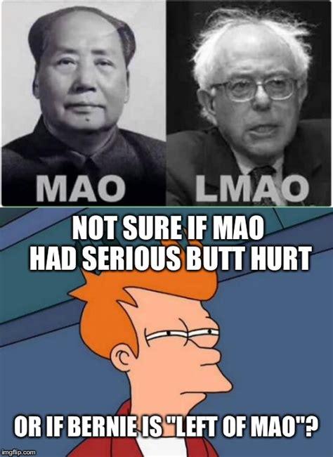 Mao Zedong Memes - chairman bernie mao imgflip