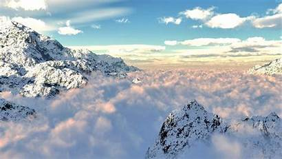 Mountain Cloud Above Wallpapers