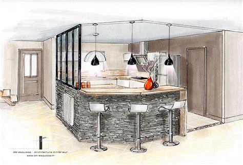 verriere interieur cuisine réalisations décoration et relooking d 39 une cuisine avec verrière intérieur roches pré