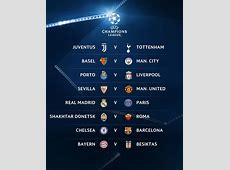 UCL R16 Chelsea Draw Barca, Real Madrid To Face PSG