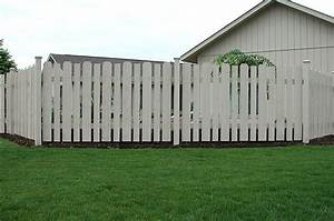 white cedar wood spaced classic contemporary fence by With white dog fence