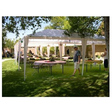 palm springs outdoor wedding party tent gazebo canopy sidewalls ebay