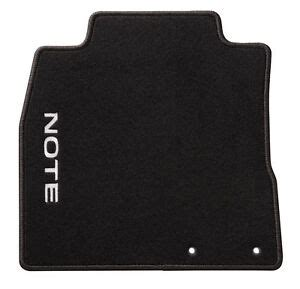 Nissan Note Car Mats - new nissan note genuine car floor mats velours front rear