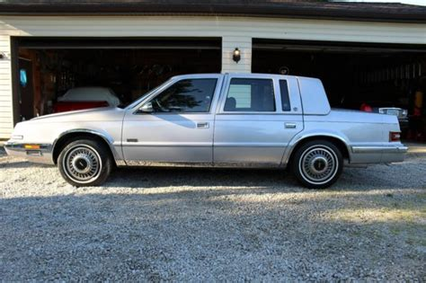 how does cars work 1992 chrysler imperial parking system 1992 chrysler imperial for sale chrysler imperial 1992 for sale in tallmadge ohio united states